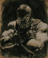 Bane from The Dark knight rises by kssu24