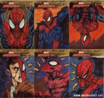 marvel sketchcards 01to06 by anjinanhut