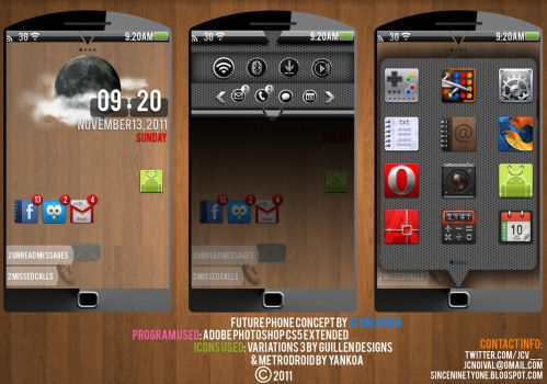 Future Phone Concept by JC Valencia by supjc