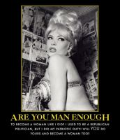 Are You Man Enough...? by p-l-richards