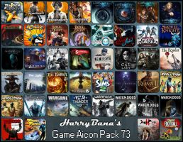 Game Aicon Pack 73 by HarryBana