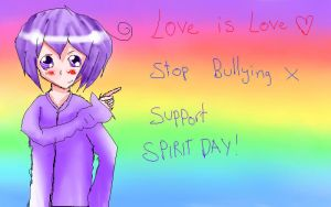Spirit day thing. by flashsteps