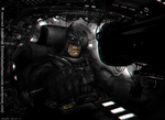 The Dark knight returns starring Clint Eastwood by Sebastien-Ecosse