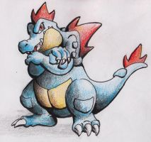 Feraligatr by SharpDressedReptile