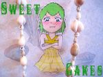 (paper cutout) Sweetcakes Chibi. by Pink--Reptile