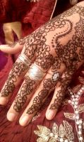 Mehndi night 1 by Livirific