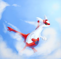 Latias by Xelvanis
