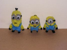 More Minions by fuzzyfigureguy