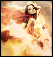 Firewoman - Photomanipulation by SykoraLukas