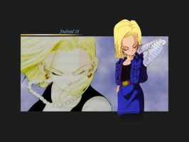 Android 18 by Bahamut285