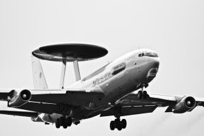 Boeing E-3 Sentry by Konrad22
