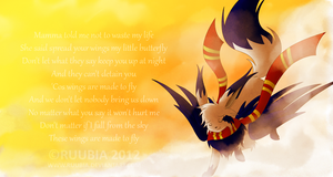 These Wings Are Meant To Fly by ruubia