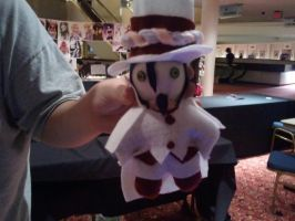 Mephisto Pheles !+Ao no Exorcist+! Button Eye Doll by GlitterFox