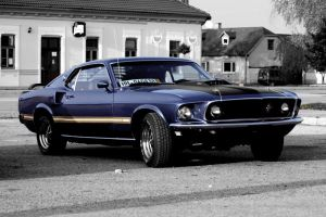 Ford Mustang 69 Mach 1 by Hotcars