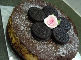 Oreo Cheesecake by Sliceofcake
