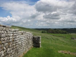 Hadrian's Wall Stock 31 by CoolCurry-Stock