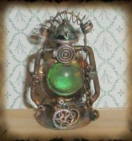 Mini Steampunk Lantern by grimdeva