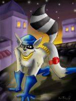 Sly Cooper by GhettoRainbowCat