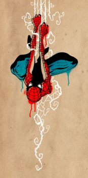 Hang In There Spidey by dizzydave13