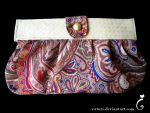 70's clutch bag by caturs