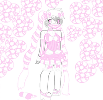 ::Peppermint Bubblegum Maid::Gift by TentacleCutie