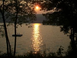 Lake George Sunset by ChapperIce