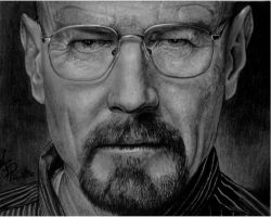 Walter White-breaking bad by andresarte