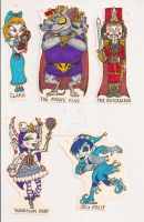 Christmas Character Tags 02 by Gummibearboy