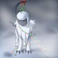 Lonely Absol by poplarleaves