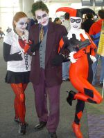 Megacon TDK Joker and Harleys by Sonic1002
