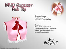 MMD REQUEST DONE - Pink Top by NyaLinaa