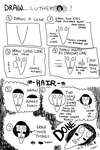 how to draw luther head by monteGlover