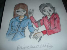 Michael is playing with Rebecca, by BlueRosePetalsQueen