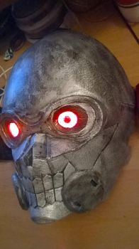 Foam Death gun mask with lights and voice changer by AndChi