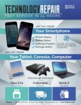Technology Repair Flyer/Poster by Giunina