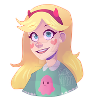 Star Butterfly by RaposaBoba