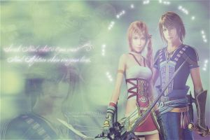 Noel and Serah by the-sparkling-light