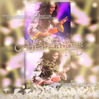 Congratulations {Diego} PSD by SoHappilyDream