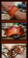 Autumn Maple Leaf Cuff by DariusSilver