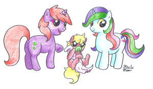 little fillies by pitch-black-crow
