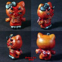 Hello Evil Kitty 4 Demon by Undead-Art