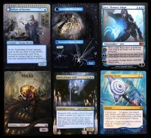more MtG alters by BadgersBakery