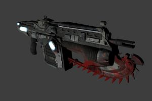 Lancer Assault Rifle by OutcastOne