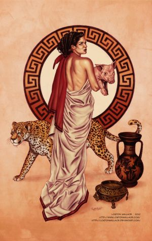 Circe Color Print