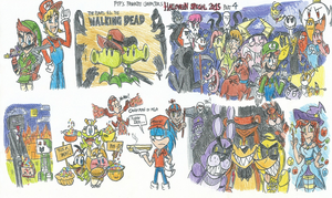 Favorite Characters' Halloween Special 2015 Part 4 by FelixToonimeFanX360