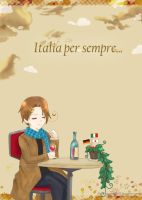 :APH Take a moment in italy: by yue-yashima15