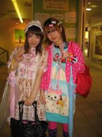 Harajuku Pair 3 by BellKatie