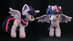 princess twilight sparkle plushie by lemonkylie