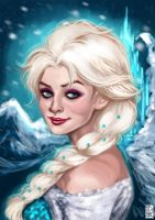 Cold Never Bothered Me Anyway by Fidi-s-Art