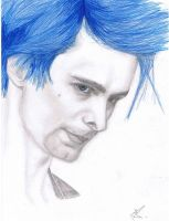 Blue-haired Matt by RefleXNerve
